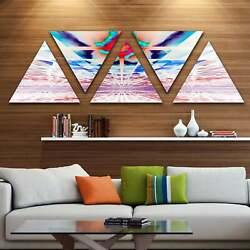 Designart And039cosmic Horizons Apocalypseand039 Contemporary Wall Art 60 In. Wide X 28 I