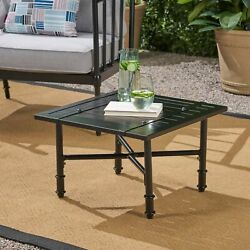 Christopher Knight Home Vienne Aluminum Outdoor Side Table
