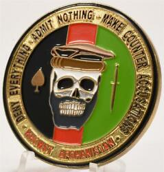 Cia Special Activities Special Ops Group Camp Fob Chapman Khowst Challenge Coin