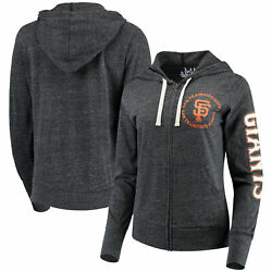 San Francisco Giants Touch By Alyssa Milano Womenand039s Training Camp Full-zip