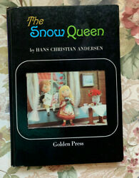 The Snow Queen By Hans Christian Andersen Board Book 1968 Vintage Rare