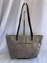 Hobo Gray Leather Tote $35.00