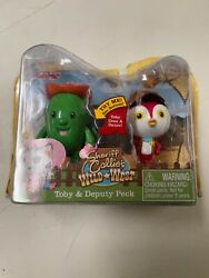Nip Sheriff Callie's Wild West Action Figures Toby And Deputy Peck Rare