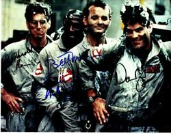 Dan Aykroyd Murray Ramis + 1 Signed 11x14 Photo And Coa Autographed Picture Nice