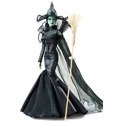 💚 New Barbie The Wizard Of Oz Fantasy Glamour Wicked Witch Of The West Nrfb