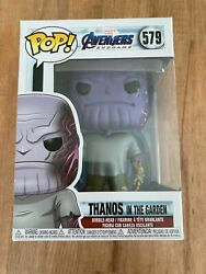 Thanos In The Garden - Avengers Endgame Funko Pop 579 New With Free Protector