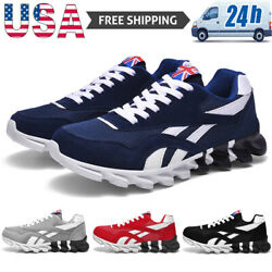 Men#x27;s Casual Sneakers Breathable Running Shoes Sports Trainers Tennis Athletic $25.99