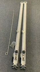 Dometic A/e Camper Rv Awning Universal Short Hardware Kit Nos White Replacement