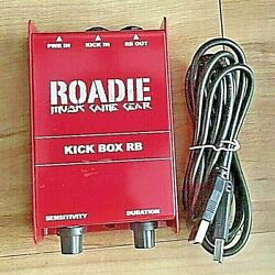 Drums Rocker Ion Rare Discontinued Pedal Roadie Musik Game Gear Kick Box Rb Rock
