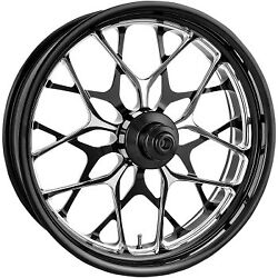 Performance Machine Front Wheel Galaxy Platinum Cut 21 X 3.5 With Abs For 14+