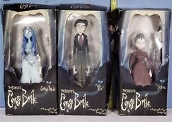 3- Corpse Bride Emily Victor And Victoria Jun Planning 16 Inch 40 Cm Action Figure