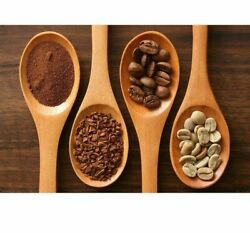 Diamond Painting Coffee Beans In The Wooden Spoon Design Embroidery Wall Display