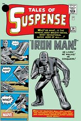 Iron Man Tales Of Suspense Comic Book Cover Poster 24x36 Inches