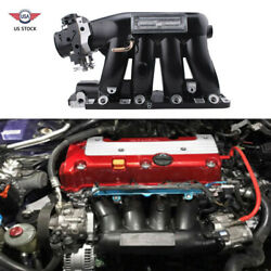 Intake Manifold + Throttle Body For 04-08 Acura Rsx Base 06-11 Civic Si K20z3