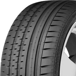 4 New Continental Contisportcontact 2 255/45r18 99y Performance Tires