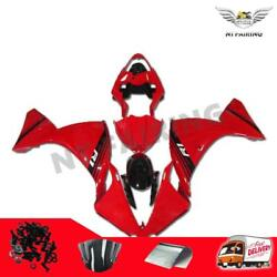 Us Stock Red Plastic Injection Mold Fairing Fit For 2012-2014 Yamaha Yzf R1 Q022