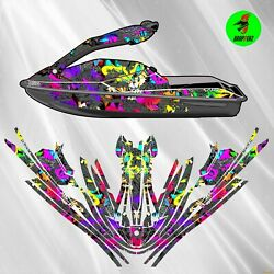 Brp Seadoo 3d, 2005-2007 Graphics Kit Decals Set Stickers For