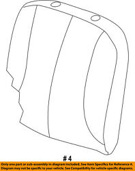 Ram Chrysler Oem 13-18 3500 Front Seat-cushion Cover-top Back Right 5mw02hl1ab
