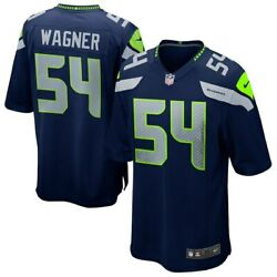 Seattle Seahawks Bobby Wagner 54 Nike Men's Official Nfl Player Game Jersey