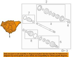 Cadillac Gm Oem 08-11 Cts Rear Differential-carrier 25979054