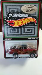 Hot Wheels Texas Drive Em Official Mexican Convention Mint Carded 1/4000