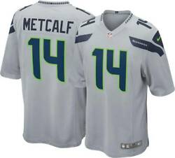 Seattle Seahawks Dk Metcalf 14 Nike Men's Official Nfl Player Game Jersey