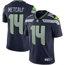 Seattle Seahawks Dk Metcalf 14 Nike Navy Official Nfl Vapor Limited Jersey