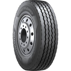4 New Hankook Am09 12r22.5 Load H 16 Ply Steer Commercial Tires