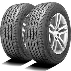 2 Tires Goodyear Wrangler Fortitude Ht 225/75r16c Load E 10 Ply Commercial