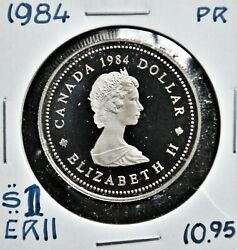 Jacques - 1984 Canada 1 Proof Nickel Dollar