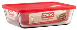 Pyrex Stor+rect/cvr Size 11 Cu Pyrx Storage+rectangle/cover 11 Cup
