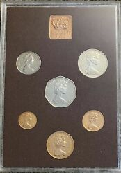 Royal Mint 1974 Coinage Of Great Britain And Northern Ireland Proof Set 3