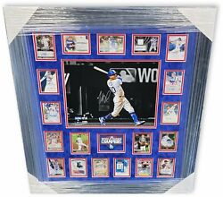 2020 Dodgers Auto World Series Collage 19 Sigs 11x14 Photo Betts Clayton Kershaw