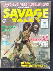 Savage Tales 1 1971 High Grade And Glossy 1st Appearance Of Man-thing