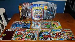 Avengers Deal - Black Widow, Thor And Hulk - Action Figures And Comic Books
