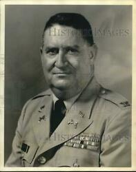 1968 Press Photo Colonel Thomas R. Smith Of The Fourth Army Military Police