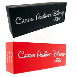 New Sealed Cards Against Disney Cards Red Black Full Pack Edition Complete Uk