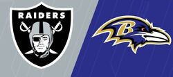 Nfl Week 1 Raiders Vs Ravens Home Opener With Fans. Tickets Sold Out