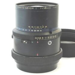 For Mamiya/mamiya Rz Secor 180mm F4.5w Secondhand Smtb-td Letand039s Do Our Best