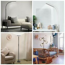 Floor Lamp Reading Dimmable Eye Protection RC Switch LED For living Room Bedroom