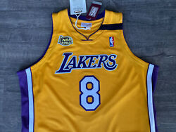 Authentic Mitchell And Ness 99/00 Los Angeles Lakers Kobe Bryant Jersey 48 Rare