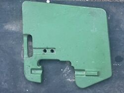 John Deere Tractor Front Suitcase 100 Lb. Weight Part R58823dtag 102