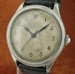Rare Vintage Wwii Military Omega Spitfire - Original Condition 1941and039