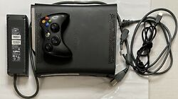 Microsoft Xbox 360 120gb Console Black Complete And Actually Tested
