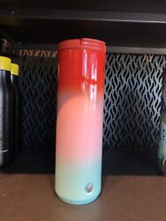 Starbucks Summer 2021 Red/ Pink/ Blue Stainless Vacuum Insulated 20oz Tumbler