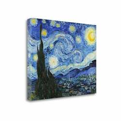 Starry Night By Vincent Van Gogh Gallery Wrap Canvas 22 X 18