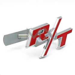 Universal Metal Alloy R/t Rt Front Grille Emblem Badge Nameplate