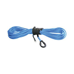Kfi Winch Blue Wide Synthetic Rope 1/4x50' For 4000-4500 Pound Syn25-b50