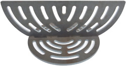 Firebox Divider Charcoal Fire Grate For Kamado Ceramic Big Green Egg Grill