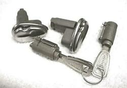 New 1958 Ford Edsel Door Ignition And Trunk Locks All Keyed Alike With Edsel Keys